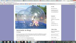 skärmdump sidhuvud gamla bloggen