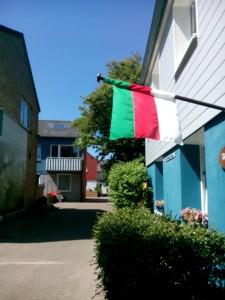 Helgolands flagga