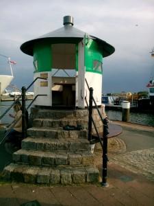 Utkik mot havet i Busum
