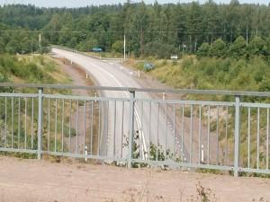 En utav två akvedukter Göta Kanal