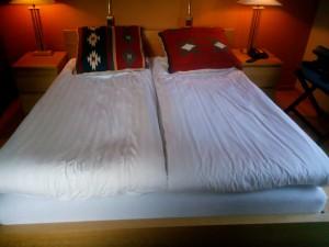 Sängen på Klostergården Vadstena kloster
