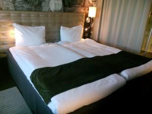 Hotellrummet Radisson Blu riverside