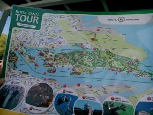Karta strömma djurgården runt