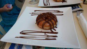 donuts med chockladsås torrevieja