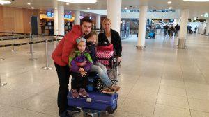 Saras familj på Kastrup