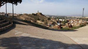utsikt från grottor Rojales
