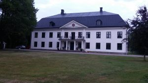 Moholms herrgård baksidan