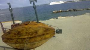 Trä ubåt riga