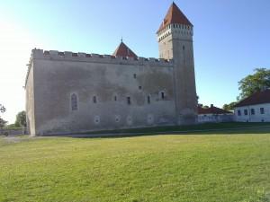 Biskopsborgen i kurresaare på Ösel