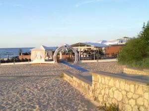 Verkar vara strand innestället på Jurmala