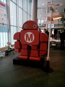 Oslo Maker Fairs maskot