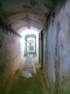 smala delen av den civila delen av bunkern