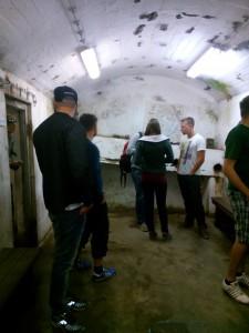 Köket i bunkern