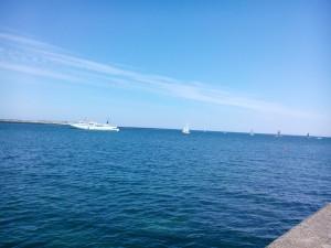 Funny Girl båten vi äkte till och från Helgoland med