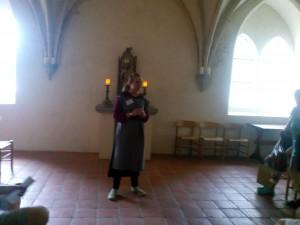 Guode på klostermuseet