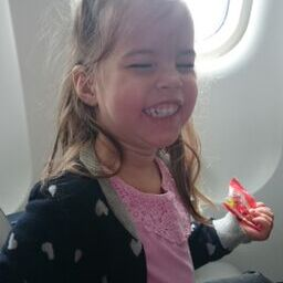 Nellie skattar på flyget