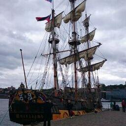 Piratskepp enligt barnbarnen