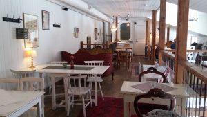 inne på Nygrens cafe Alingsås