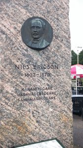 Sten över Nils Eriksson göta älv