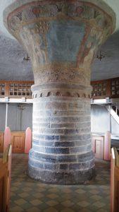 Pelare nylars kyrka bornholm