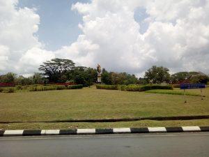 Hornbill rondell i Kuching