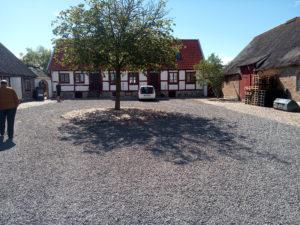 Framsidan bostad Kullabergs Vingård
