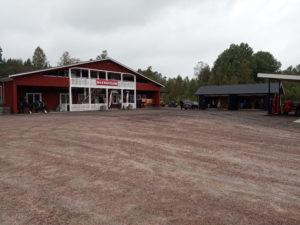 byggnaden Torpa omnibussmuseum
