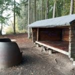 övernattingsskydd och grillplats Lärkesholmssjön