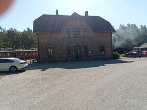 Brösarps station framsidan