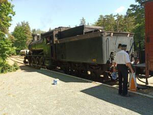 ångloket som drog tåget