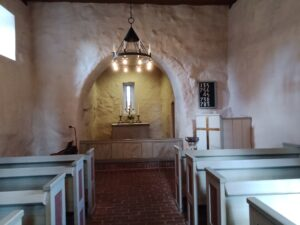 intriör kapellet nydala
